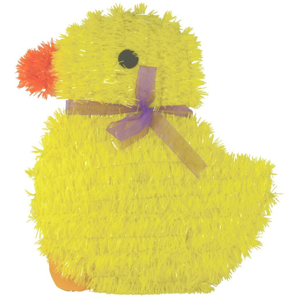 Fun Machine Tinsel Plaque Chick