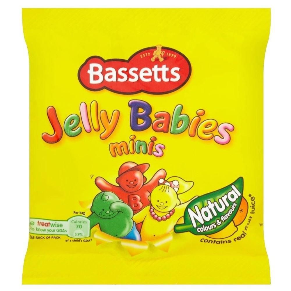 Bassetts Jelly Babies Minis 21g