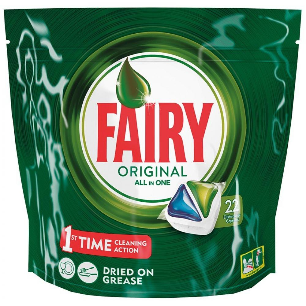 Fairy Original All In One 22 Dishwasher Capsules