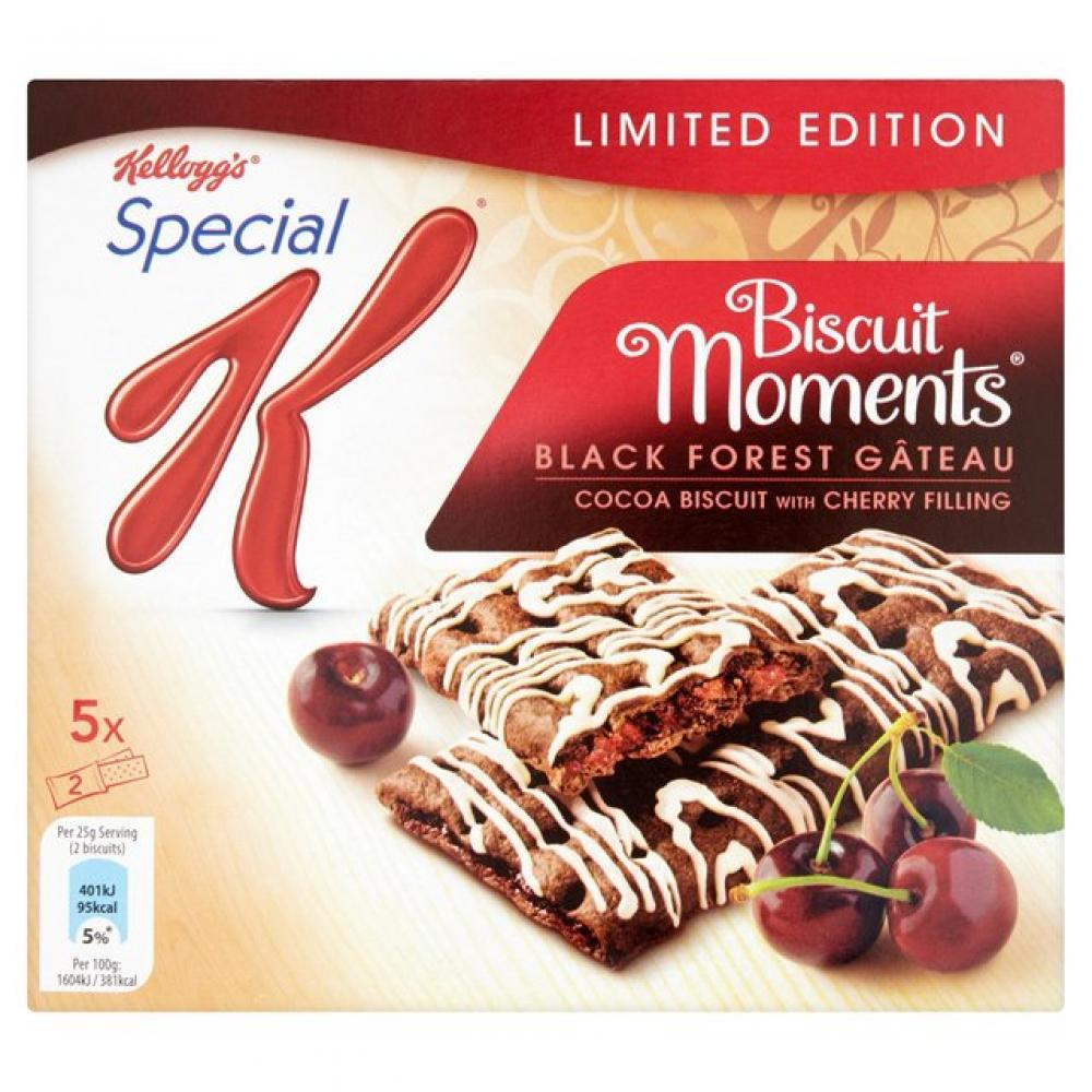 Kelloggs Special K Biscuit Moments Black Forest Gateau 5 x 25g