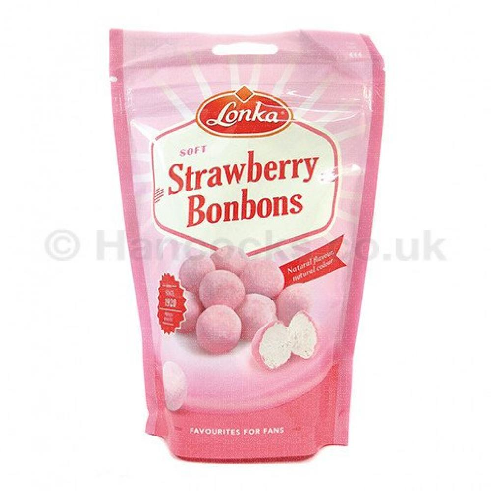 Lonka Strawberry Bonbons 200g