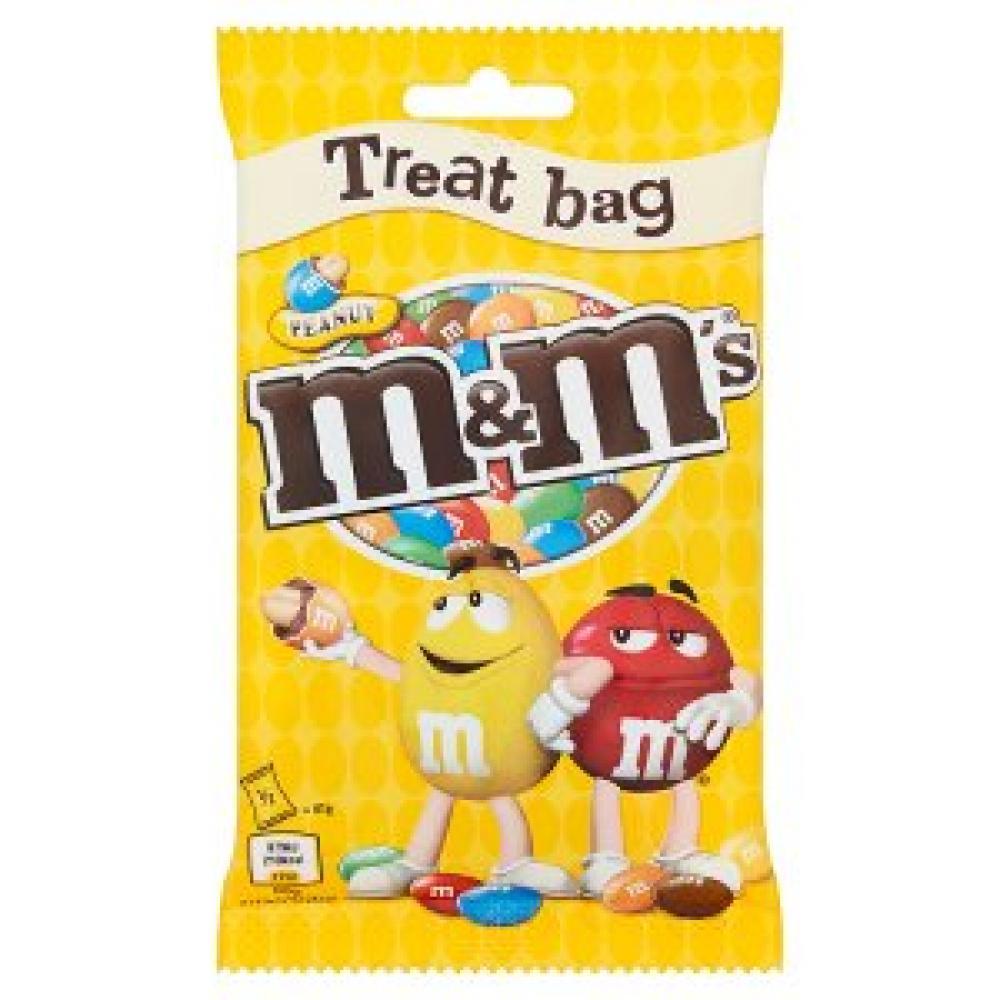 M and Ms Peanut Treat Bag 82g