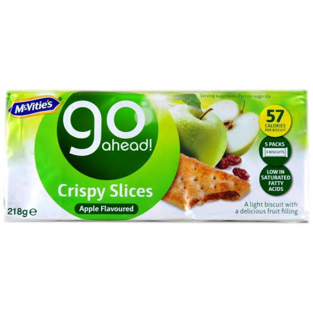 McVities Go Ahead Crispy Slices Apple 5 x 43.6g