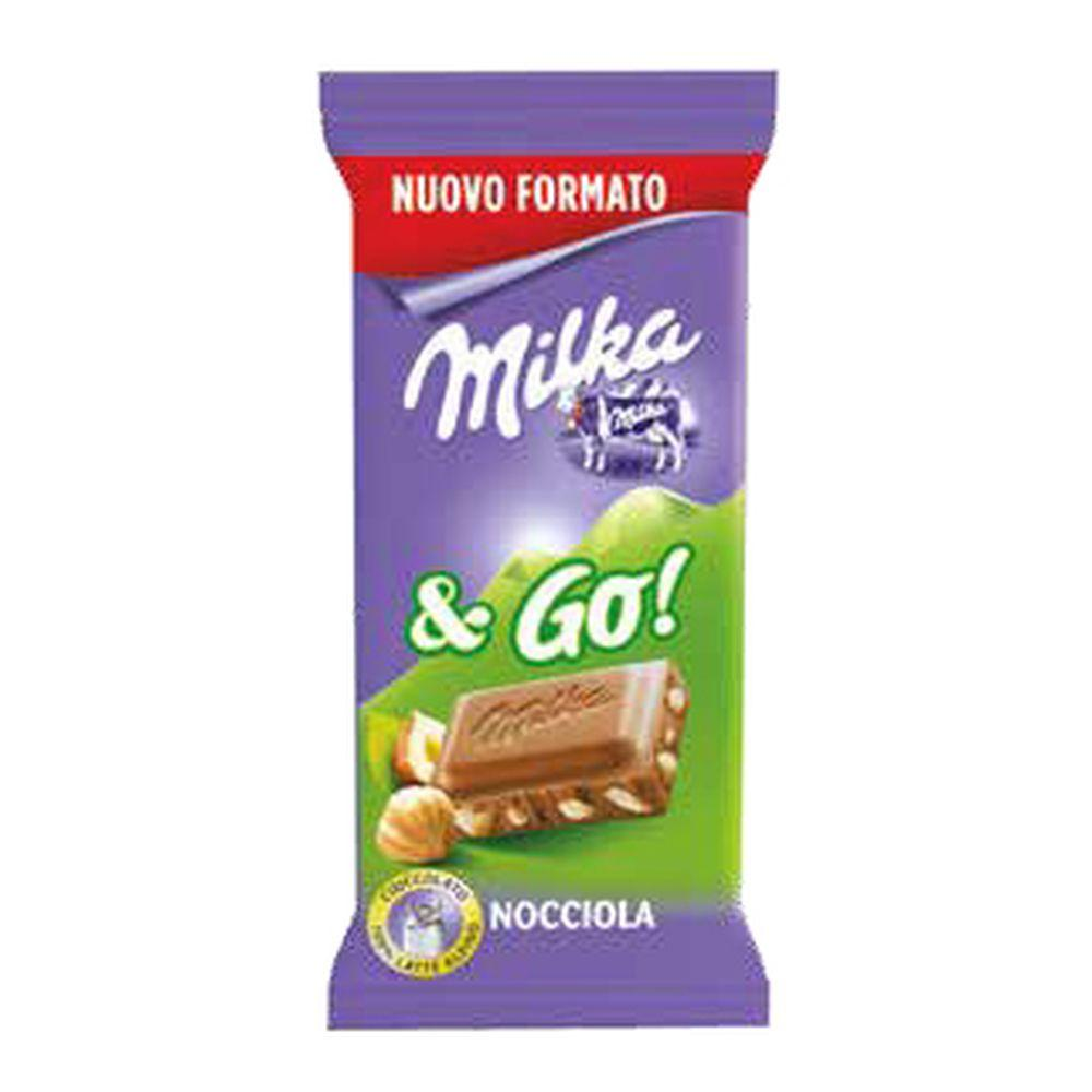 Milka and Go Hazelnut 45g