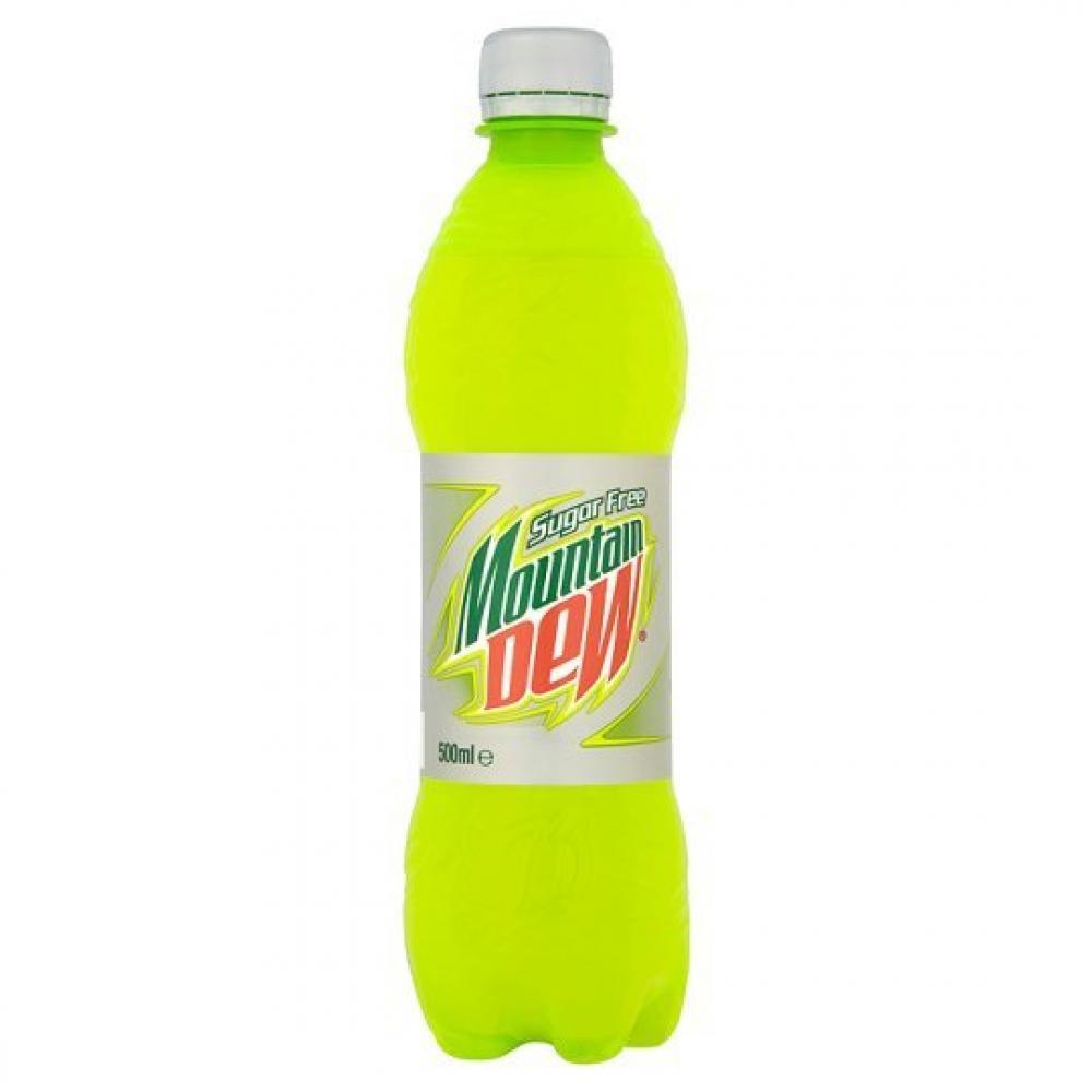 Mountain Dew Sugarfree 500ml