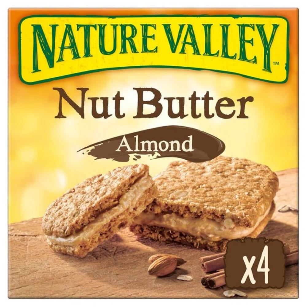 Nature Valley Nut Butter Almond Bars 4 x 38g
