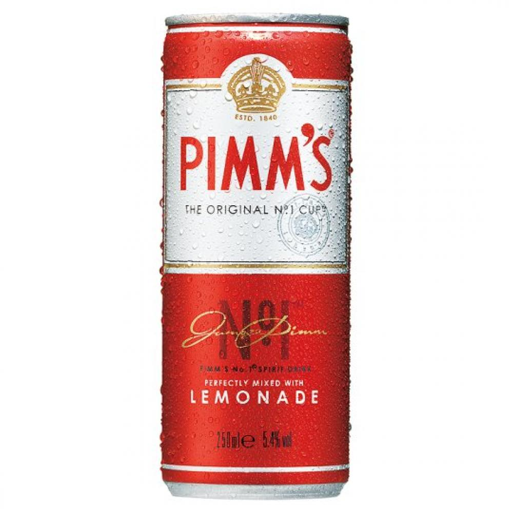 Pimms Mixed With lemonade 250ml