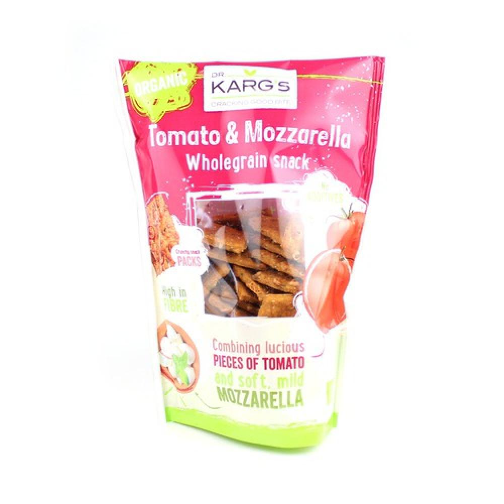 Dr Karg Tomato and Mozzarella Wholegrain Snack 110g