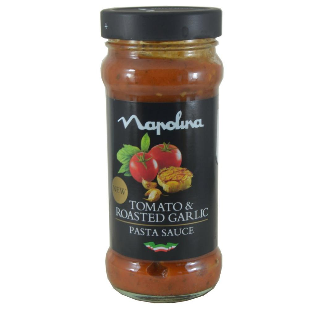 Napolina Tomato And Roasted Garlic Pasta Sauce 350g