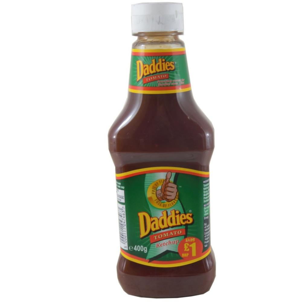CLEARANCE  Daddies Tomato Ketchup 400g