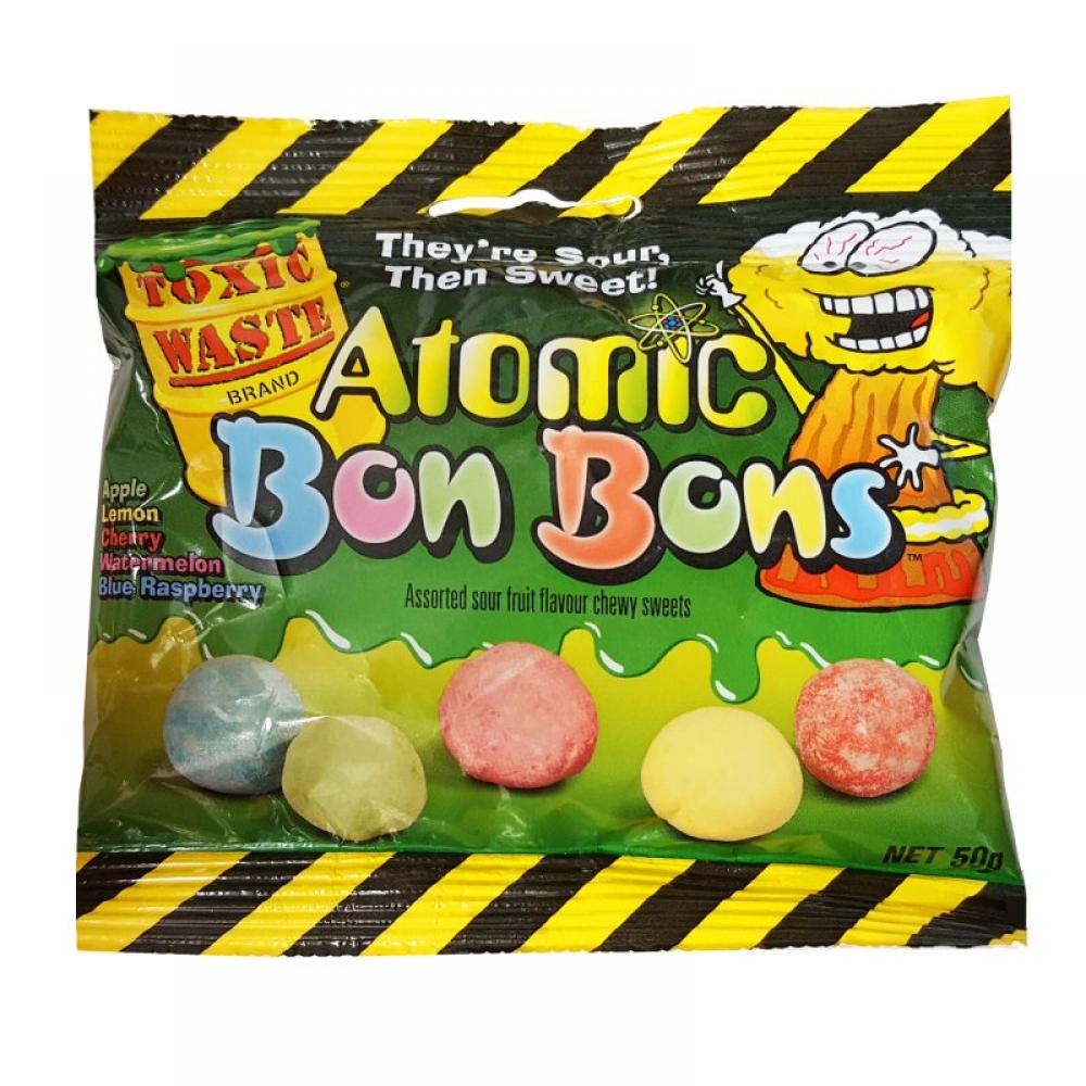 Toxic Waste Atomic Bon Bons 50g