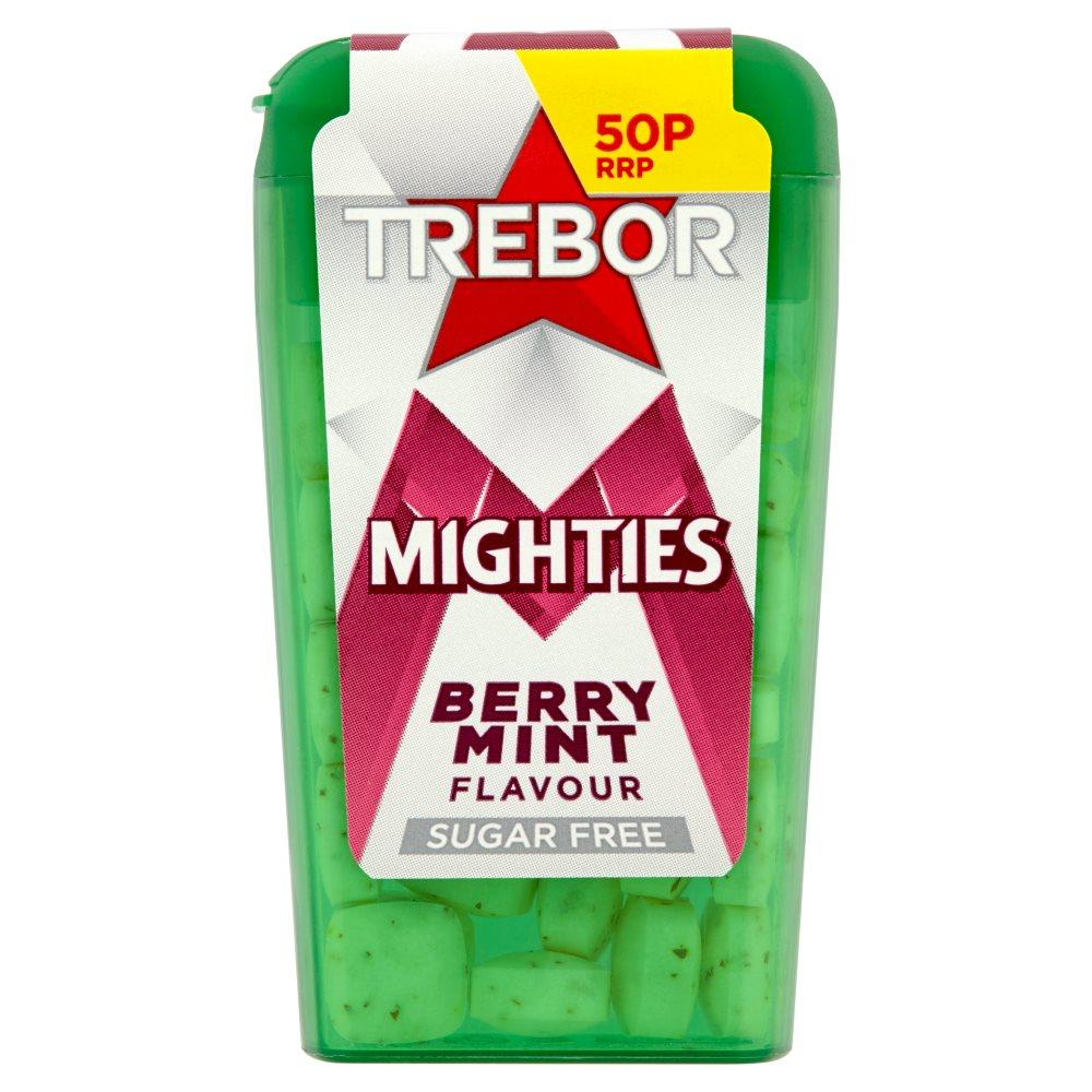 Trebor Mighties Berry Mint 12.6g