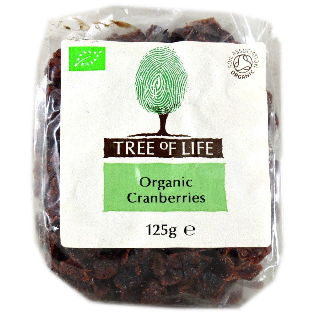 Tree Of Life  Tree Of Life Organic Cranberries 125g  125g