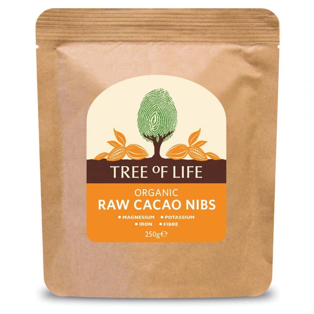 Tree Of Life Organic Raw Cacao Nibs 250g