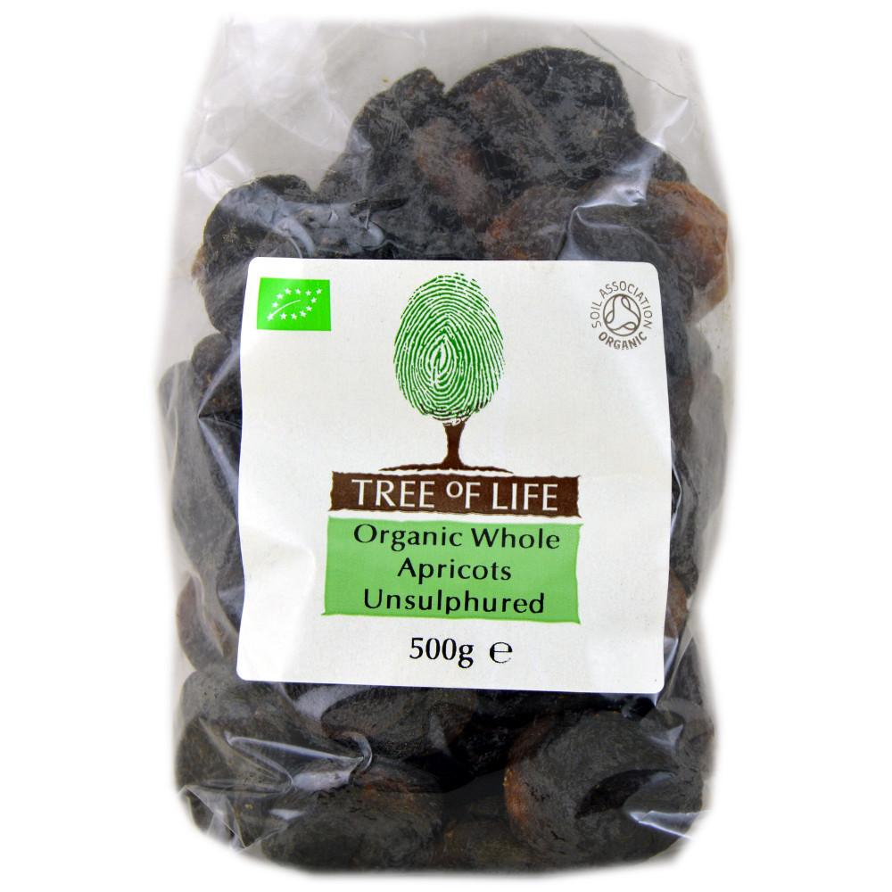 Tree Of Life Tree Of Life Organic Whole Apricots Unsulphured 500g 500g