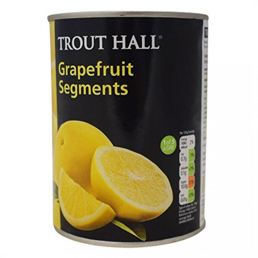 Trout Hall Grapefruit Segments In Syrup 540g
