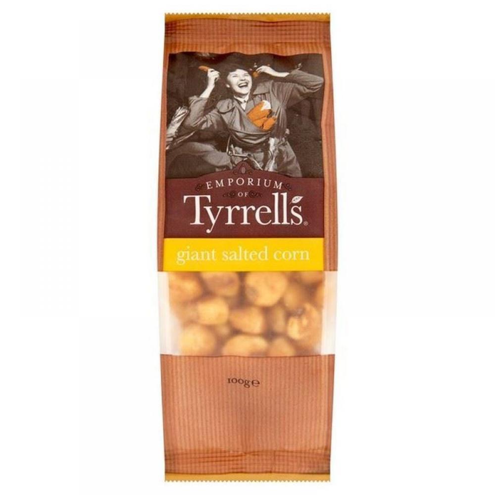Tyrrells Giant Salted Corn 100g 100g 100g 100g