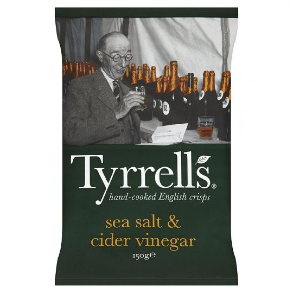 Tyrrells Sea Salt and Cider Vinegar 150g