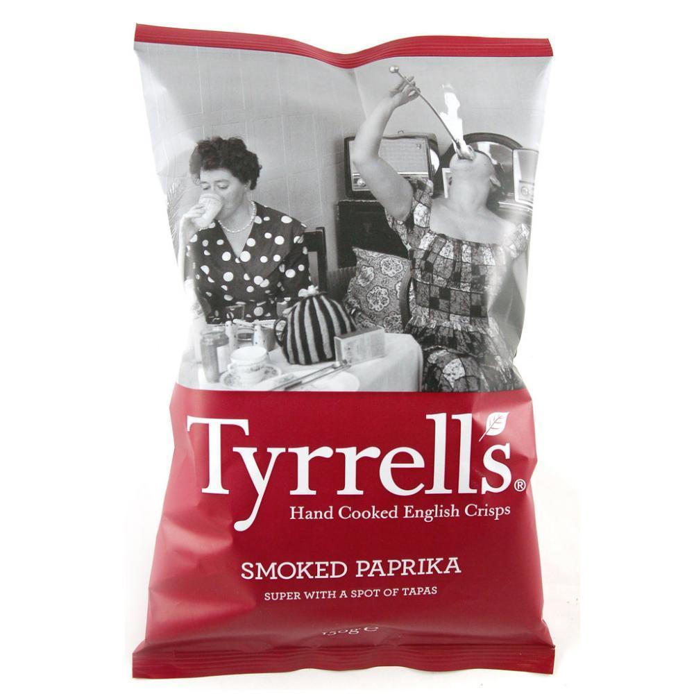 Tyrrells Smoked Paprika Flavour Crisps 150g