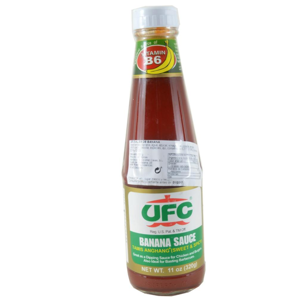 FURTHER REDUCTION  UFC Sweet And Spicy Banana Sauce 320g