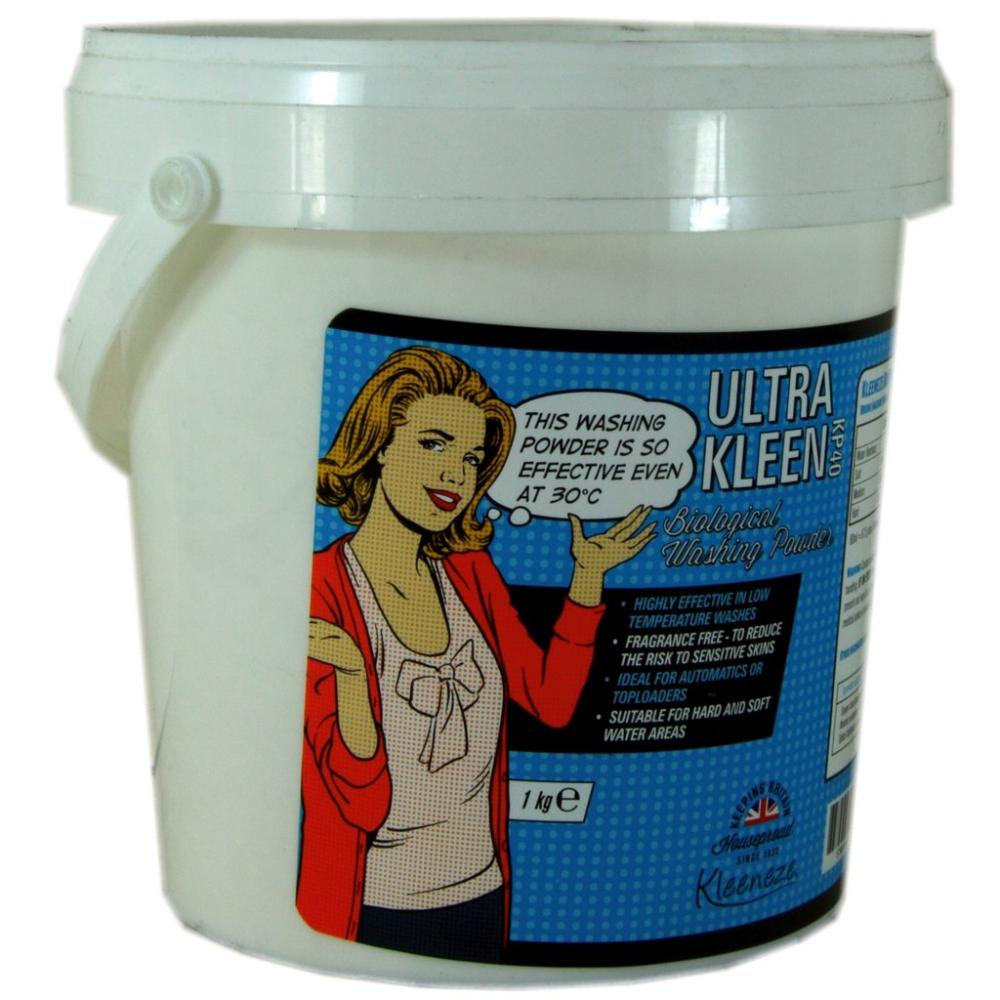 Kleeneze Ultra Kleen Biological Washing Powder 1kg