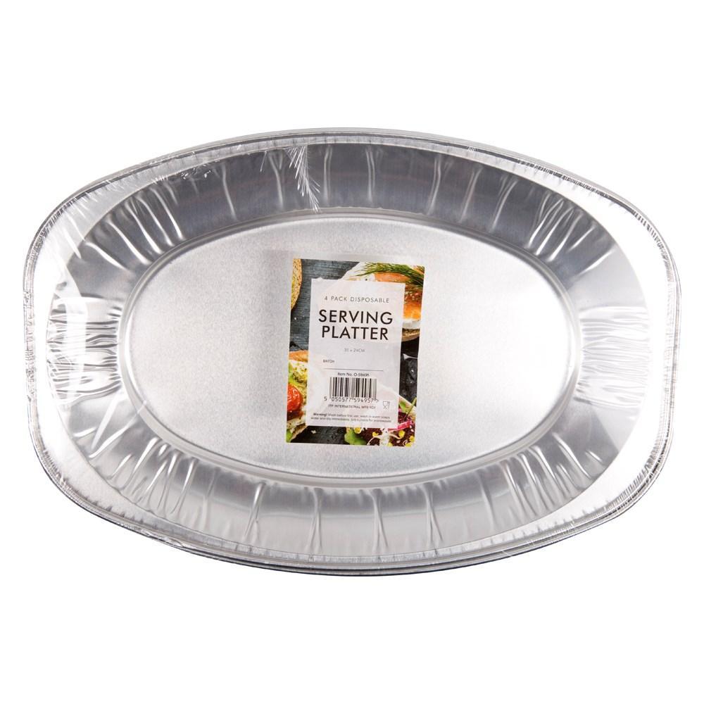 Unbranded Serving Platter 4 Pack