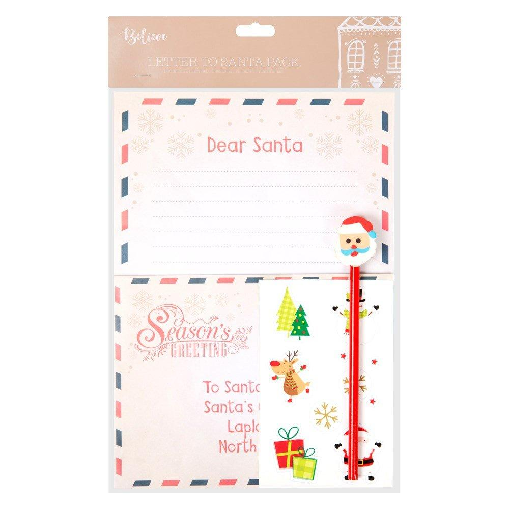 Unbranded Christmas Letter To Santa Pack