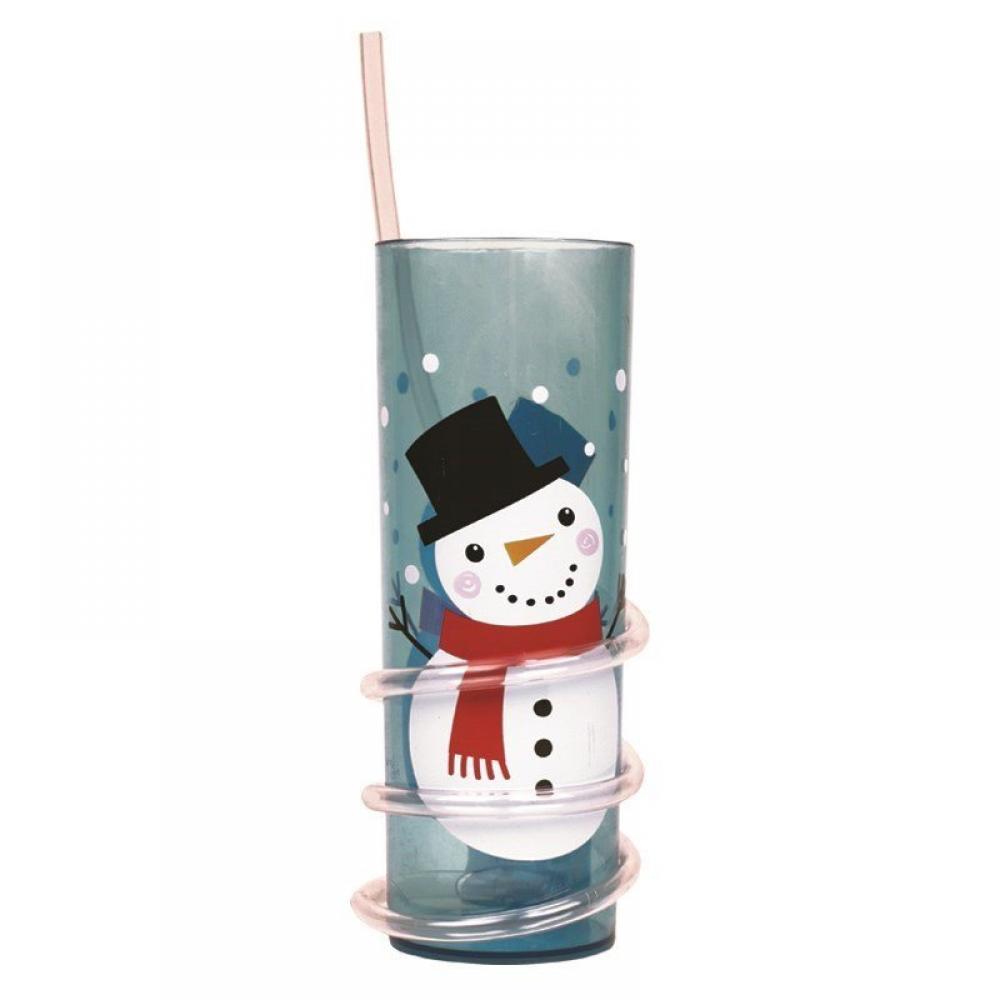 Unbranded Christmas Straw Tumbler Snowman