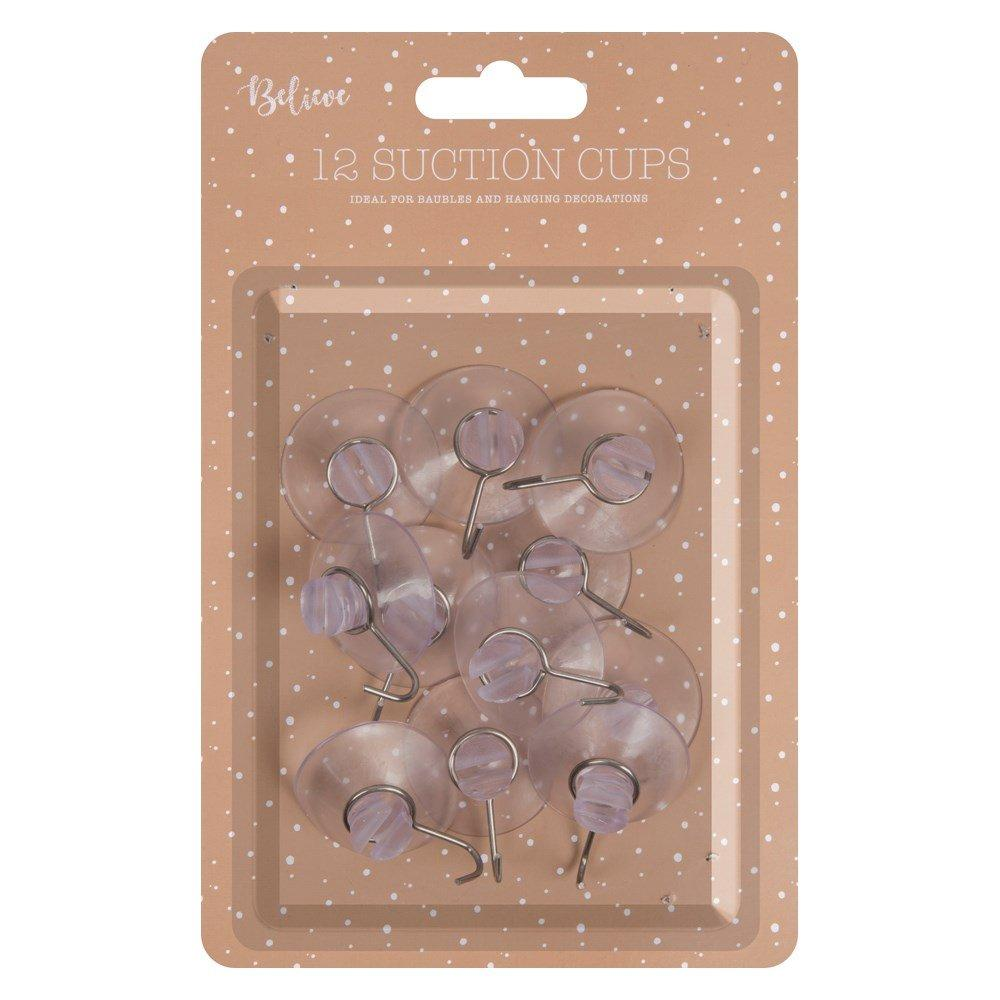 Unbranded Christmas Suction Cup Hooks 12 pack