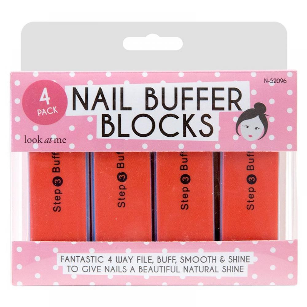 Unbranded Nail Buffer Blocks 4 pack