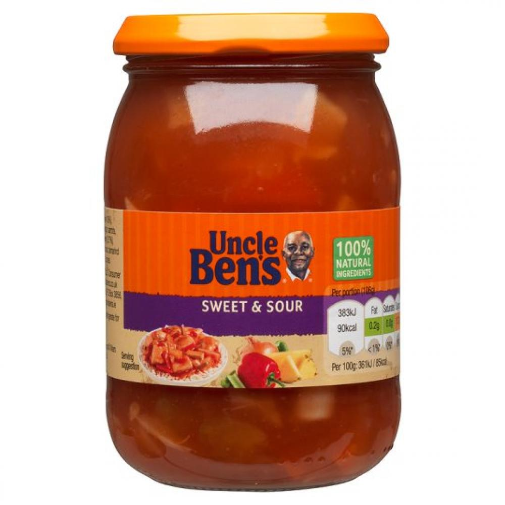 Uncle Bens Sweet and Sour Sauce 320g