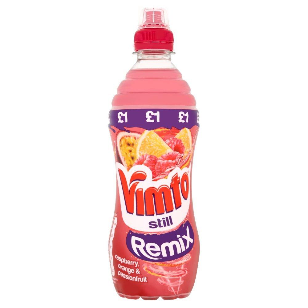 Vimto Still Remix Raspberry Orange and Passionfruit 500ml