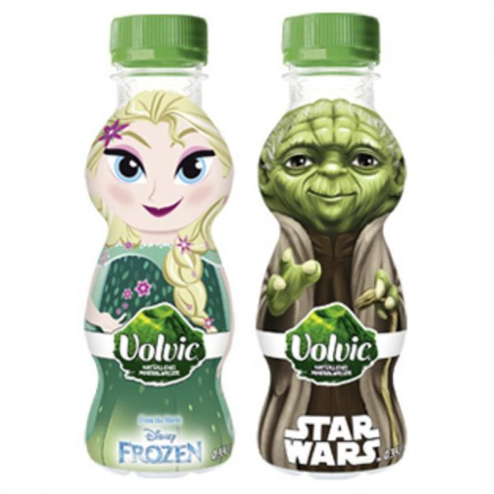 Volvic Star Wars and Frozen Natural Mineral Water 330 ml Lucky Dip
