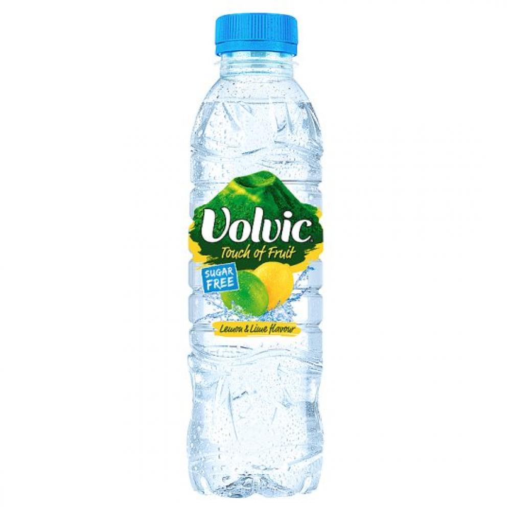 Volvic Touch Of Lemon and Lime Flavour 500ml 500ml 500ml