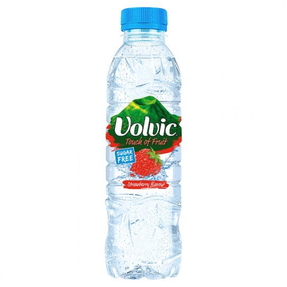 Volvic Touch Of Strawberry Flavour 500ml 500ml 500ml 500ml