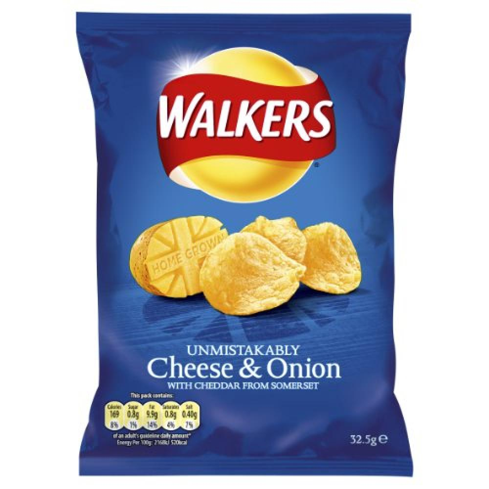 Walkers Cheese and Onion 33g