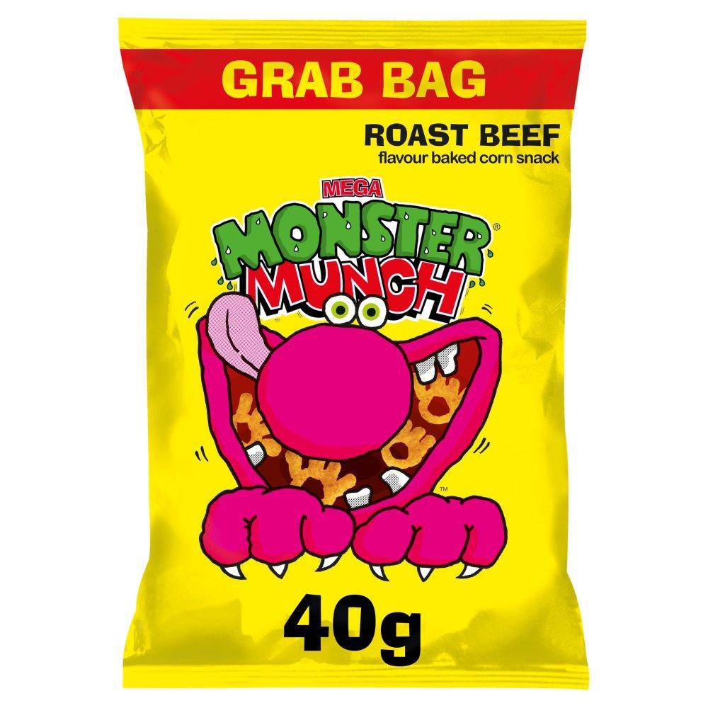 Walkers Mega Monster Munch Roast Beef 40g