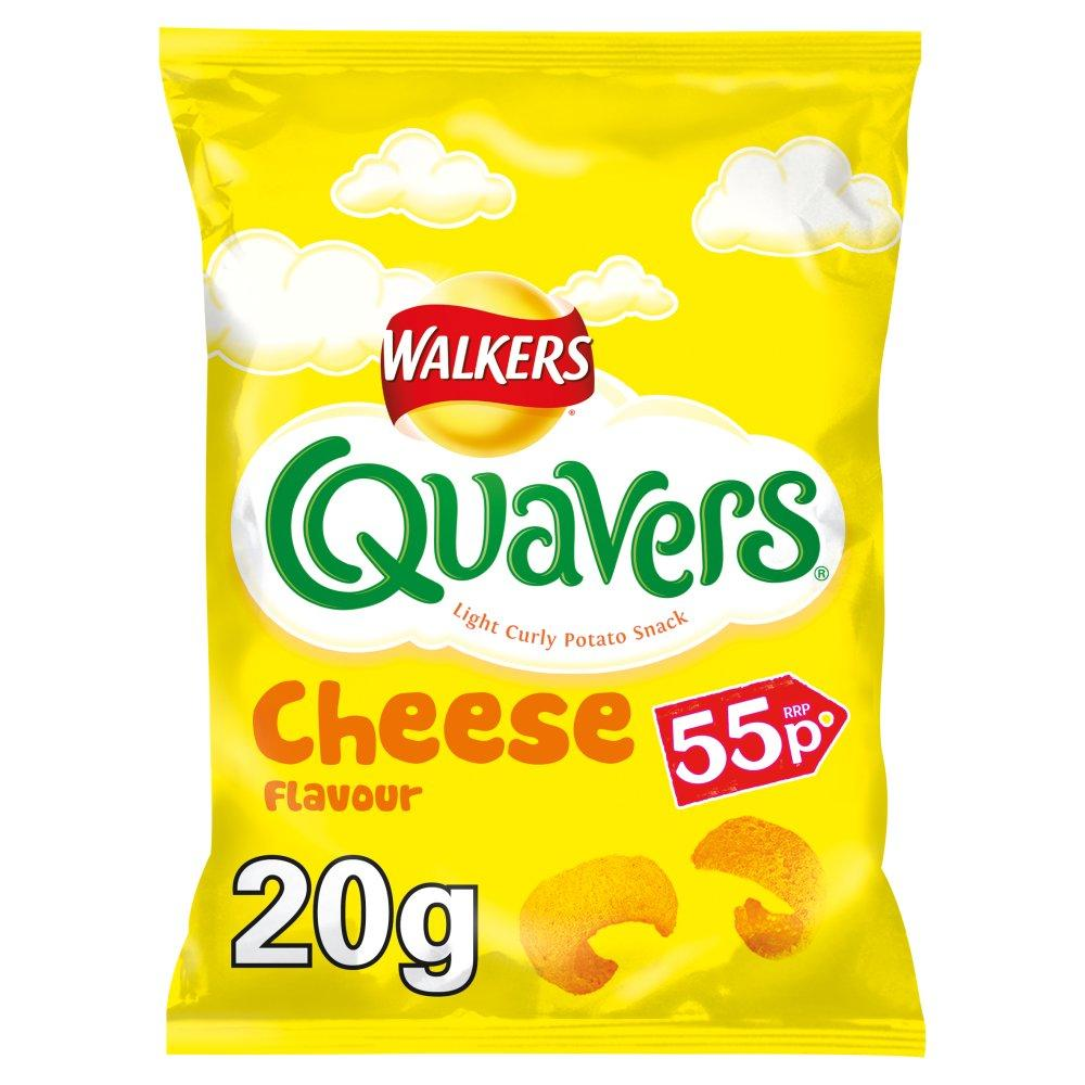 Walkers Quavers Cheese Flavour 20.5g