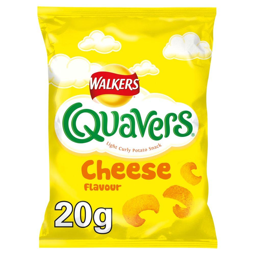Walkers Quavers Cheese Flavour 20g