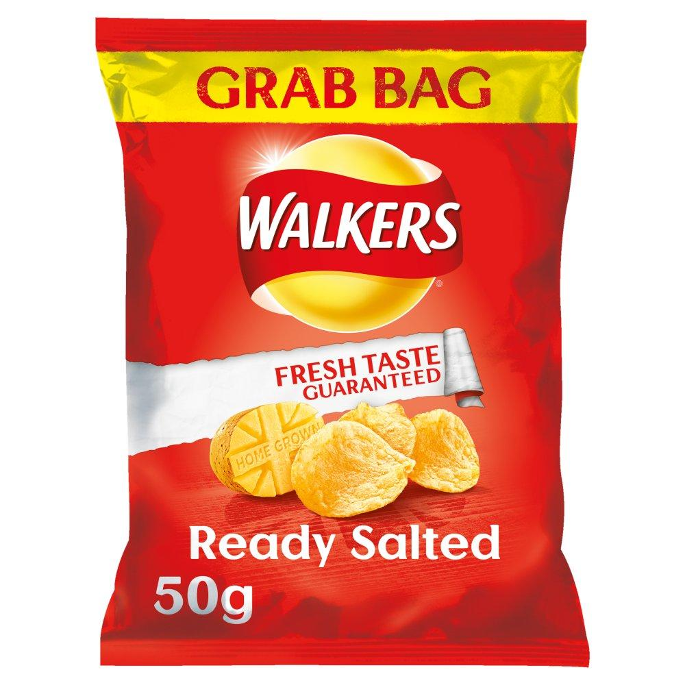 Walkers Ready Salted Grab Bag 50g