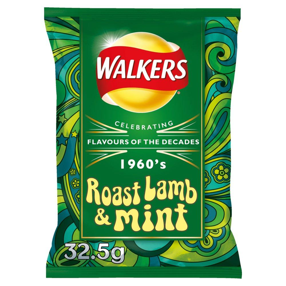 Walkers Roast Lamb and Mint 32.5g