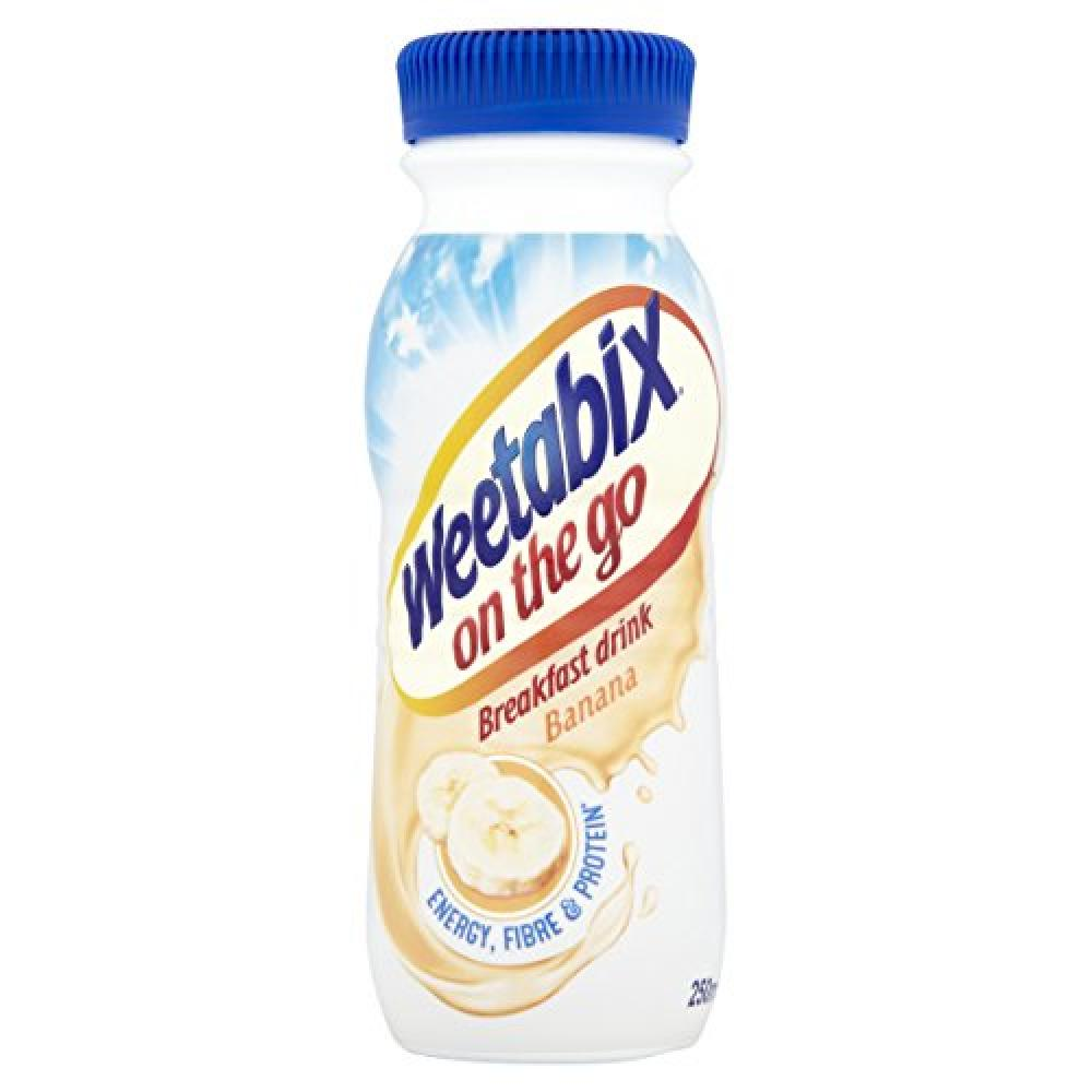 Weetabix On The Go Banana Breakfast Drink 250ml