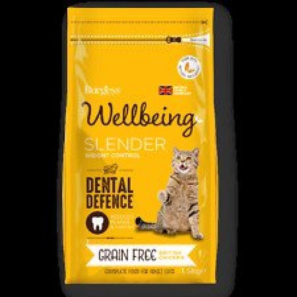 Wellbeeing Slender Grain Free Cat Food 1500g