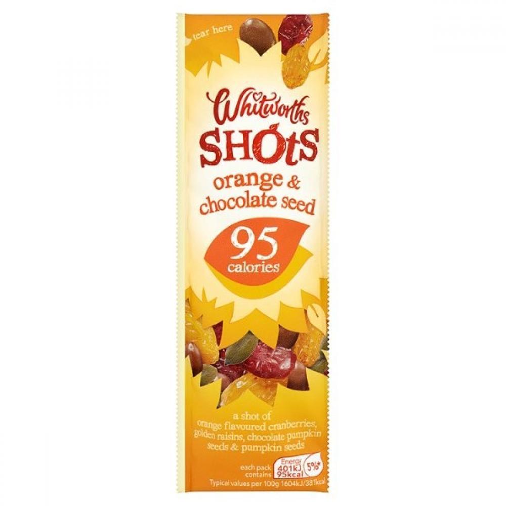 Whitworths Orange and Chocolate Seed Shot 25g