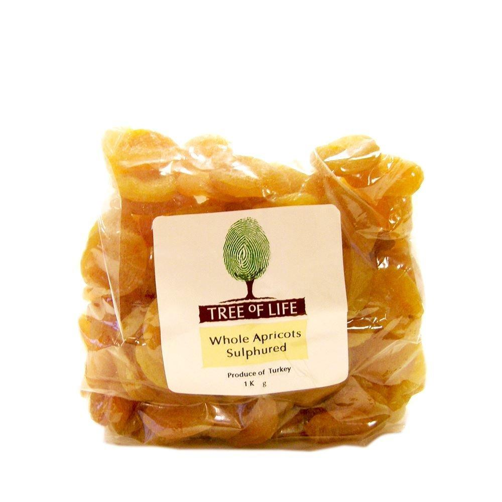 Tree Of Life Whole Apricots Sulphured 1kg