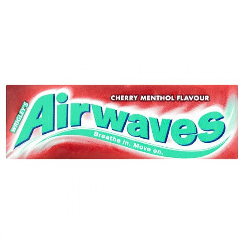 Wrigleys Airwaves Cherry Menthol Flavour 10 pellets