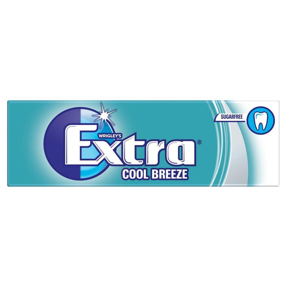 Wrigleys Extra Cool Breeze Sugarfree Gum 14g