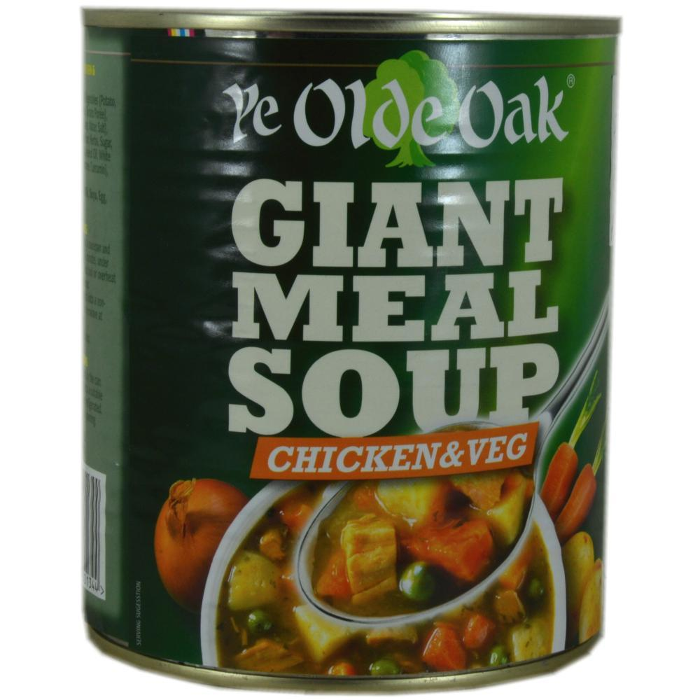 Ye Olde Oak Giant Meal Soup - Chicken and Veg 800g