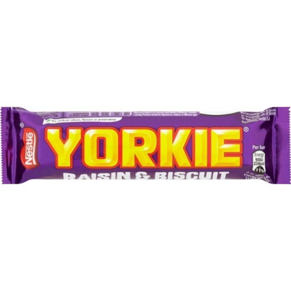 Nestle Yorkie Raisin And Biscuit Bar 44g 44g
