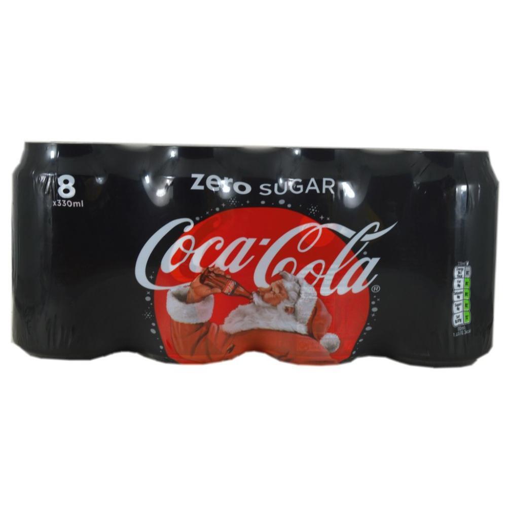 Coca Cola Zero Sugar 8 x 330ml